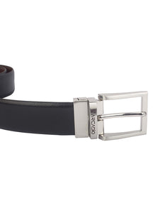 BRUSH HOUR - Brushed Leather Belt - ARB1007RV