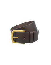 VINTAGE MANIA - Antique Look Leather Belt - ARB1016BR - ARCADIO LIFESTYLE