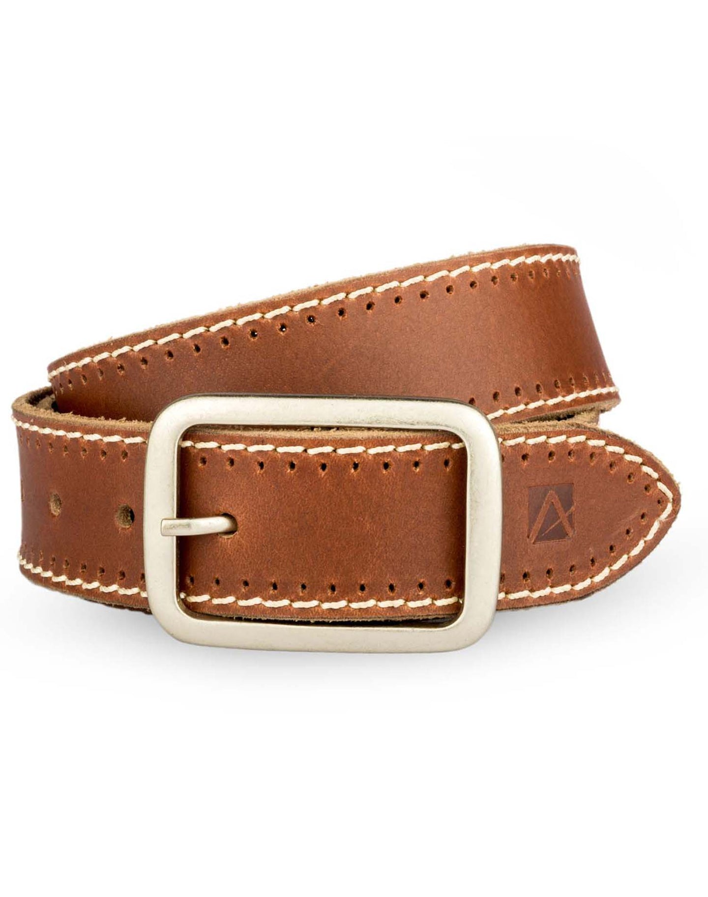 RICHCRAFT - Modern Leather Belt - ARB1017TN - ARCADIO LIFESTYLE