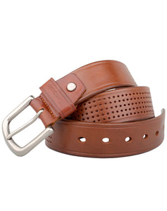 ARB1029 Vintage Leather Belt - ARCADIO LIFESTYLE