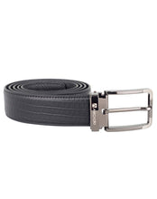 ARB1030 Square Textured Leather Belt - ARCADIO LIFESTYLE