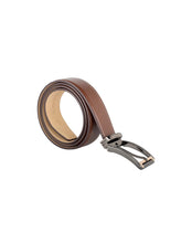 ARB1031 Brushed Leather Belt - ARCADIO LIFESTYLE