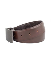ARB1034 Brown Leather Belt - ARCADIO LIFESTYLE