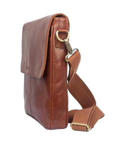 TANTALIZING - Light Tanned Sling Bag - ARSB1010TN - ARCADIO LIFESTYLE