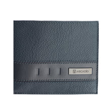TWIN FUN Bifold Dual Toned Leather Wallet - ARW1010CO - ARCADIO LIFESTYLE