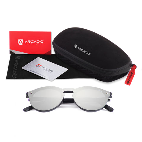 Hi-Fashion Flat Nylon Lens Sunglass - AR229-package