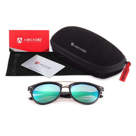 Hi-Bridge Polarized Sunglass
