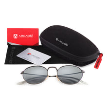 Round Metal Polarized Sunglass - AR219 - ARCADIO LIFESTYLE
