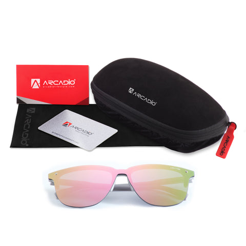Hi-Fashion Flat Nylon Lens Sunglass - AR231 - ARCADIO LIFESTYLE