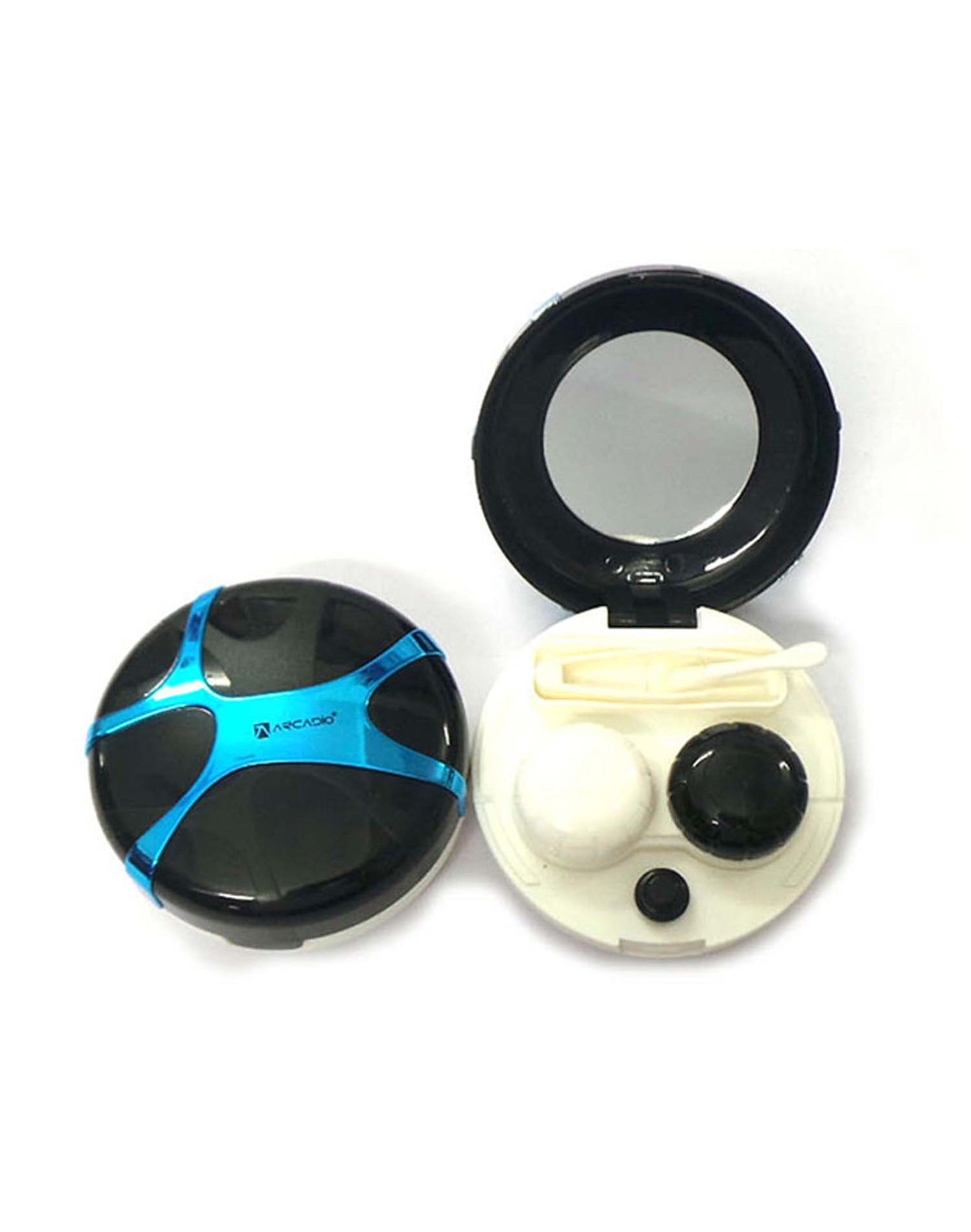 SPHERES - Designer Contact Lens Cases - HL300BL