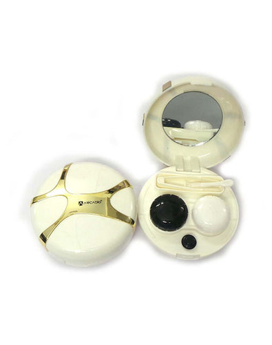 SPHERES - Designer Contact Lens Cases - HL300WT - ARCADIO LIFESTYLE