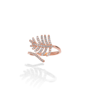 Light As a Feather Adjustable Ring - ARJWR1041RG
