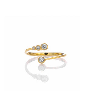 Infinity Designer Adjustable Ring - ARJWR1032GD