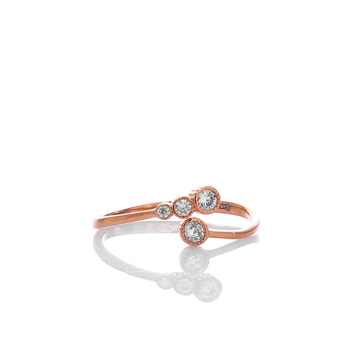 Infinity Designer Adjustable Ring - ARJWR1032RG - ARCADIO LIFESTYLE
