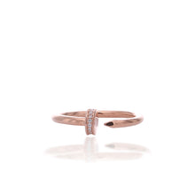 Fashionable Gap Midi Adjustable Ring - ARJWR1043RG - ARCADIO LIFESTYLE