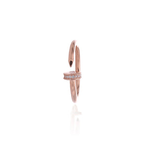 Fashionable Gap Midi Adjustable Ring - ARJWR1043RG