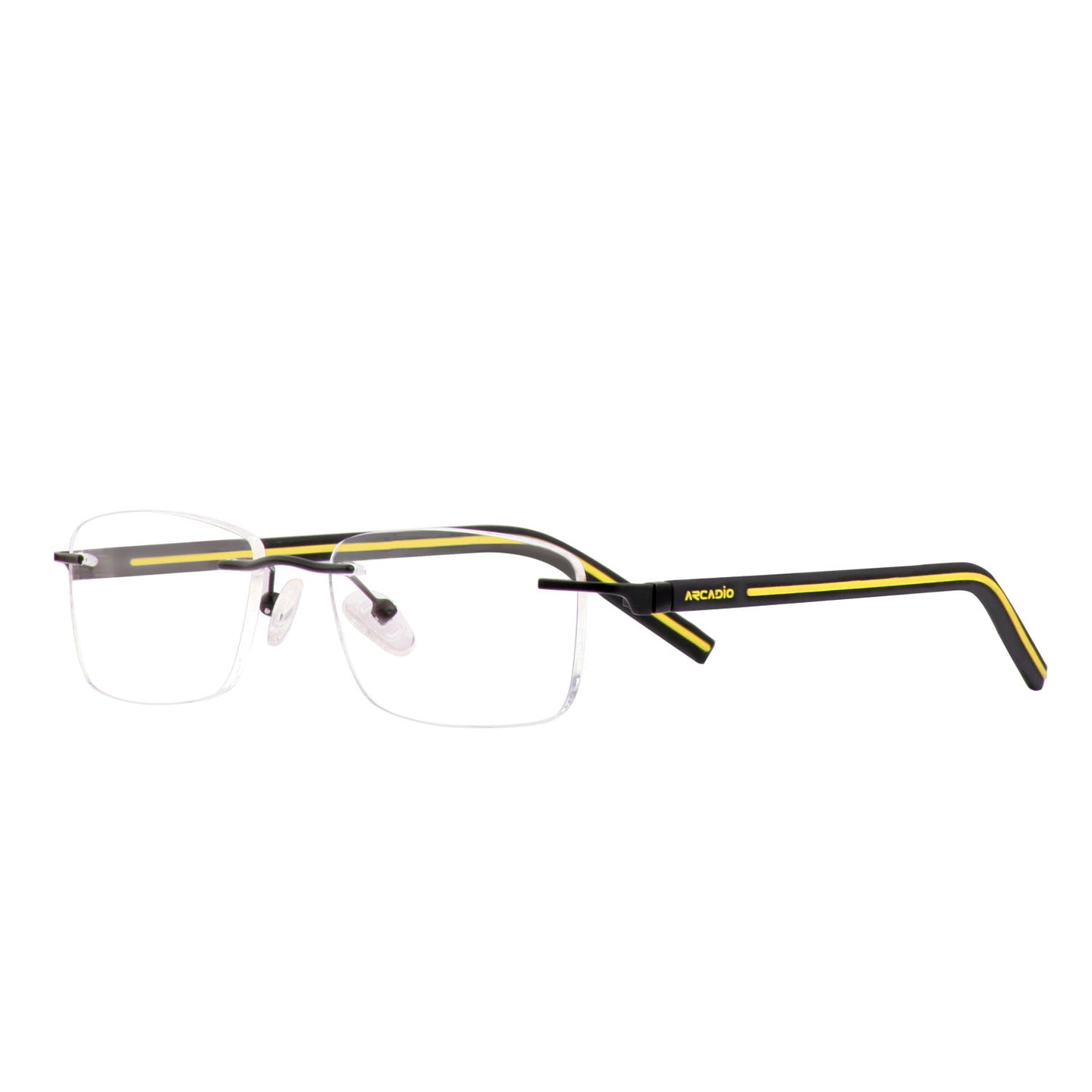 Sporty Rubbermatic Rimless Frame - RL136 - ARCADIO LIFESTYLE