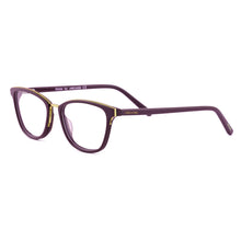 Golden rim cat eye retro edition frame SF4428 - ARCADIO LIFESTYLE