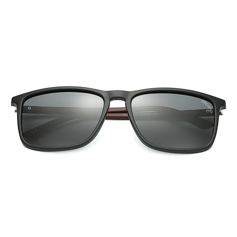 Polarized Rectangle unisex Sunglasses  - PL400