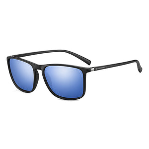 Polarized Rectangle unisex Sunglasses - TR138