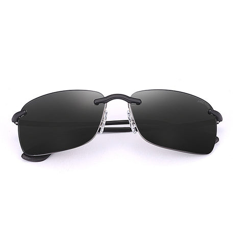 Rimless Nylon Polarized Unisex Sunglasses - TR163