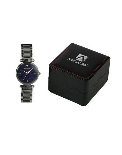 ARCADIO StarGaze Bracelet Watch - Breathtaking Black - ARSG1001BK
