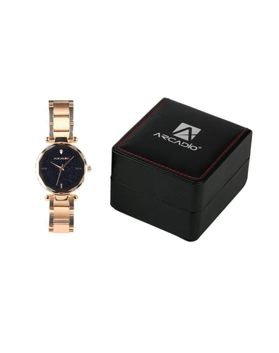 ARCADIO StarGaze Bracelet Watch - Ravishing Rose Gold - ARSG1001RG - ARCADIO LIFESTYLE