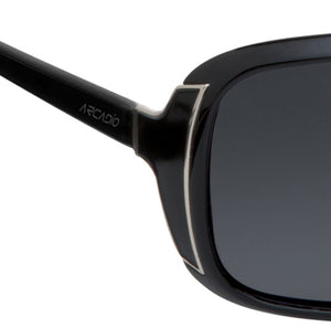 Oval Shaped Polarized Sunglass For Women - AR150