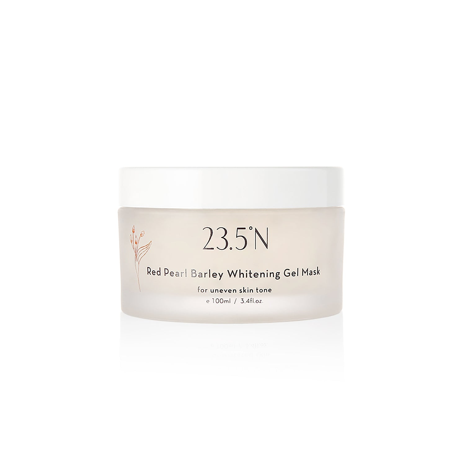 Red Pearl Barley Whitening Gel Mask