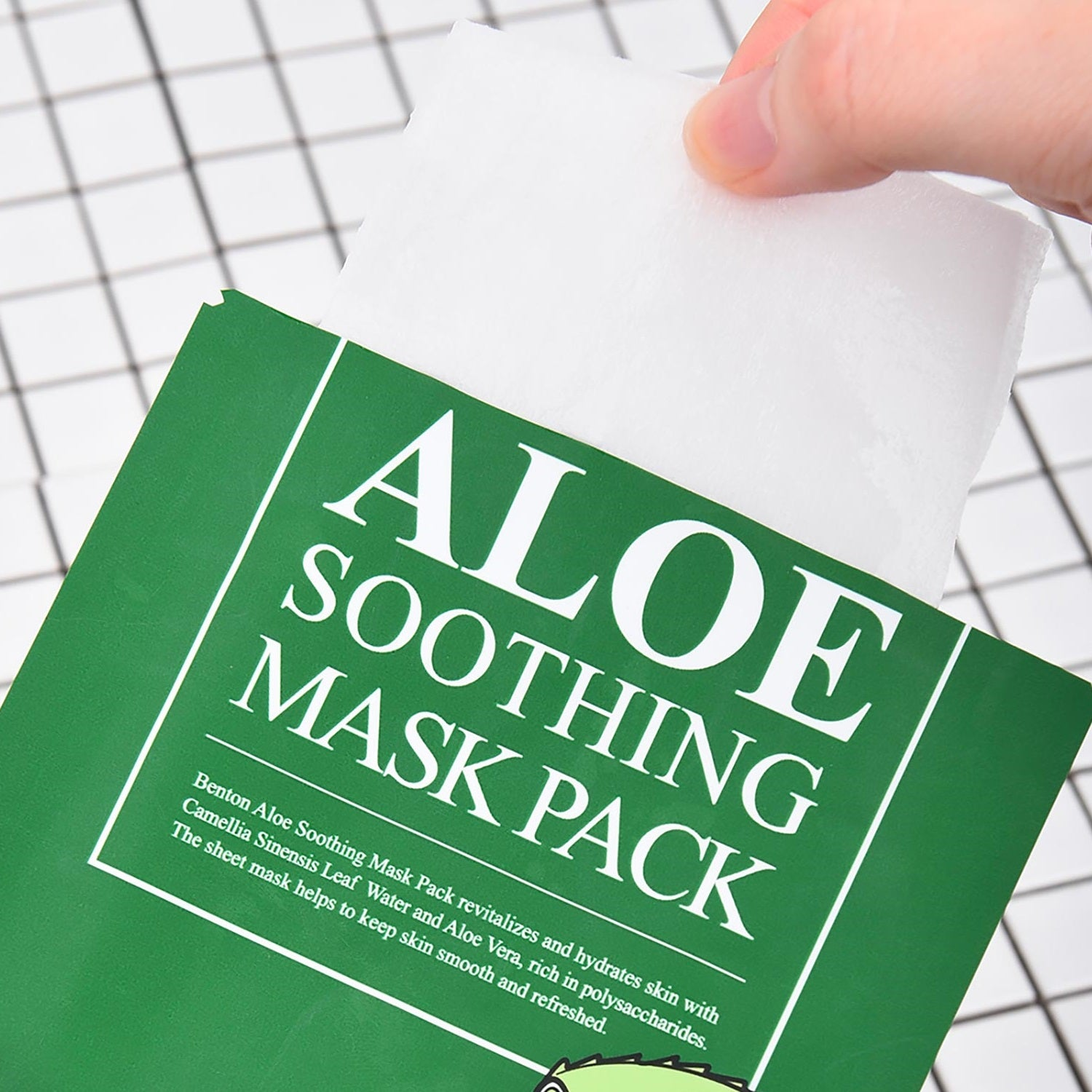Aloe Soothing Mask Pack - Peau Peau Beauty