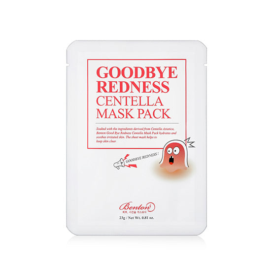 Goodbye Redness Centella Mask Pack - Peau Peau Beauty