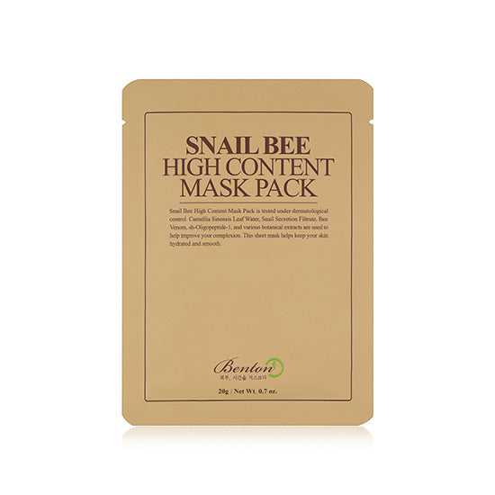 Snail Bee High Content Mask Pack - Peau Peau Beauty