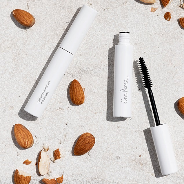 Natural Almond Mascara - Black - Peau Peau Beauty