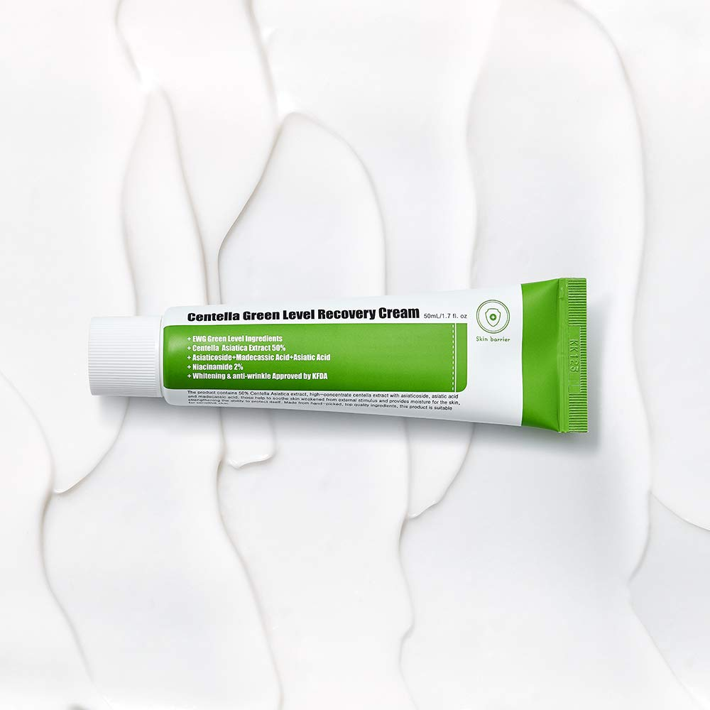 Centella Green Level Recovery Cream.