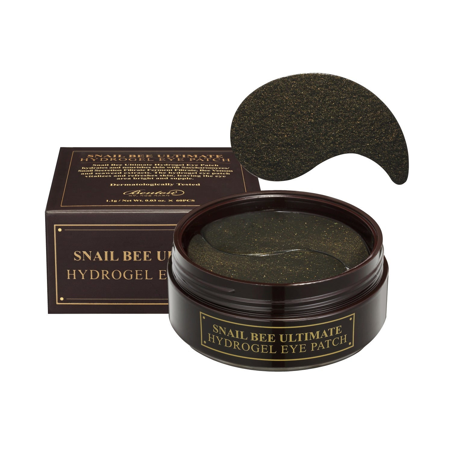 Snail Bee Ultimate Hydrogel Eye Patch - Peau Peau Beauty