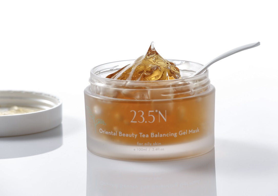 Oriental Beauty Tea Balancing Gel Mask side