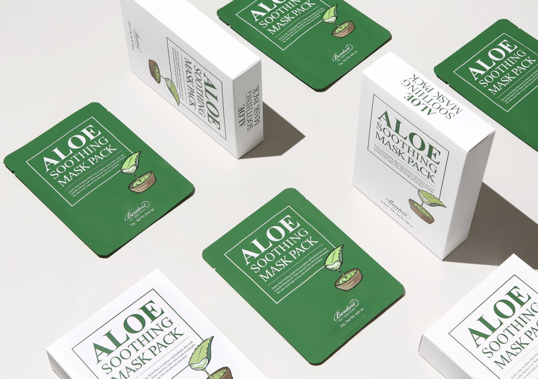 Aloe Soothing Mask Pack side