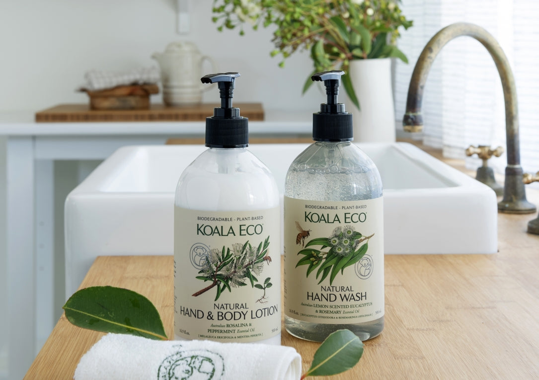 Natural Hand and Body Lotion - Lemon Scented Eucalyptus & Rosemary side
