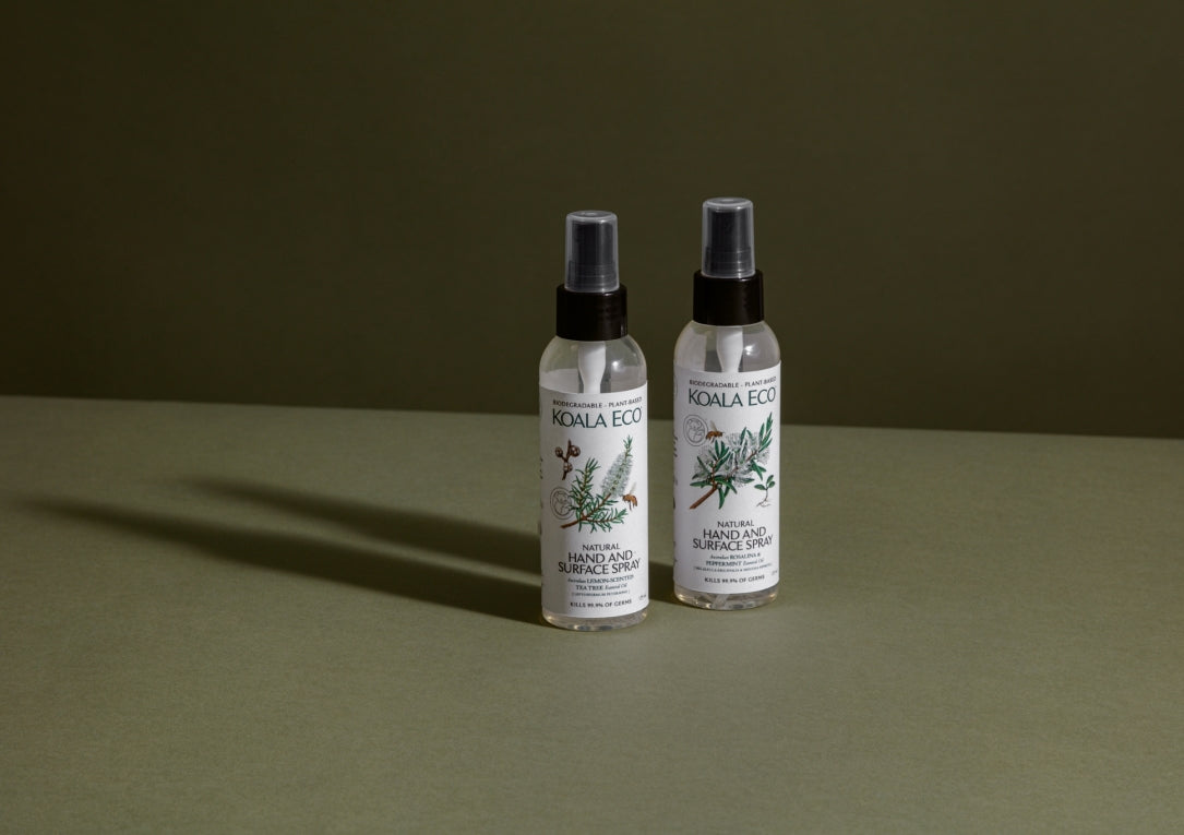 Natural Hand and Surface Spray - Lemon Scented Tea Tree side
