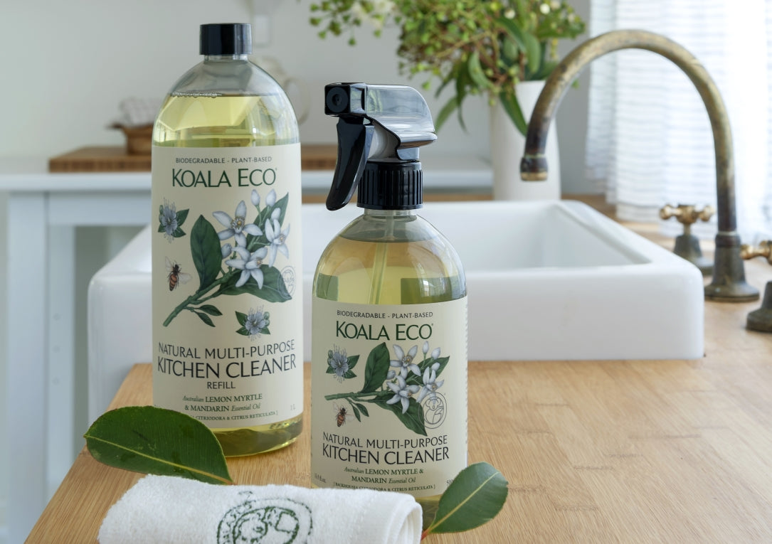 Natural Multi-Purpose Kitchen Cleaner side