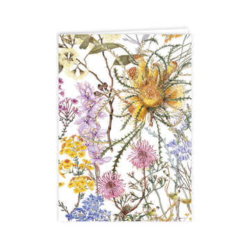 A6 Card: Wildflowers of the Southern Wheatbelt