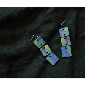 Open image in slideshow, Dangle Earring: Port Lincoln Parrot