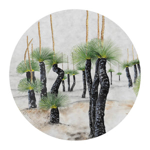 Open image in slideshow, Pocket Mirror: Desert Grasstree