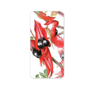 Open image in slideshow, Rectangle Gift Tag: Sturt's Desert Pea