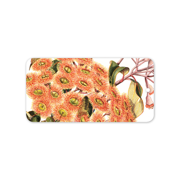 Rectangle Gift Tag: Red-flowering gum