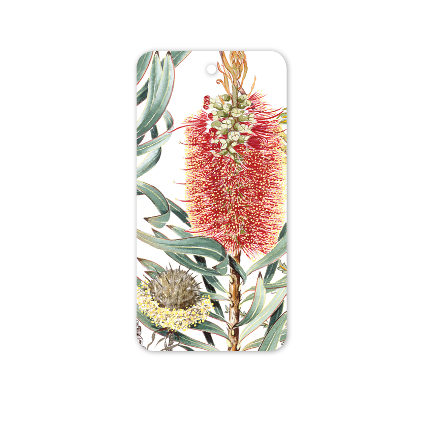 Rectangle Gift Tag: Bottlebrush
