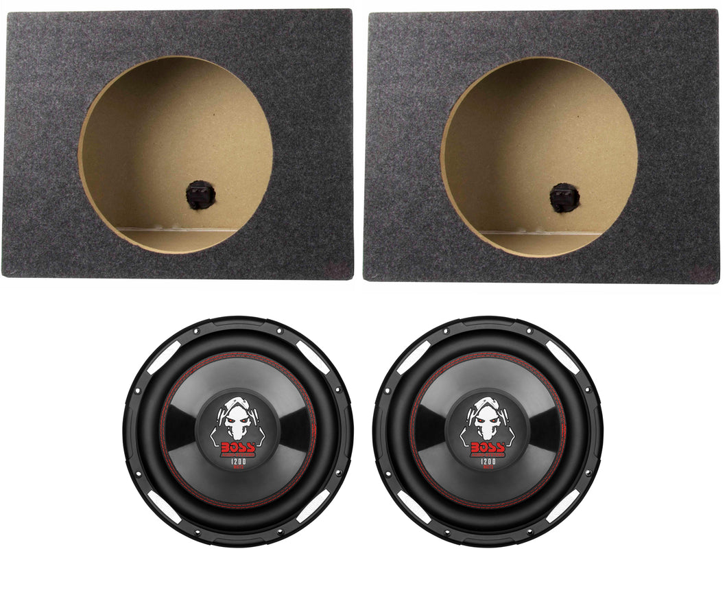 http://www.ebay.com/i/2-Boss-P100F-10-2400W-Car-Shallow-Slim-Subwoofer-2-10-Single-Sealed-Boxes-/391087937233