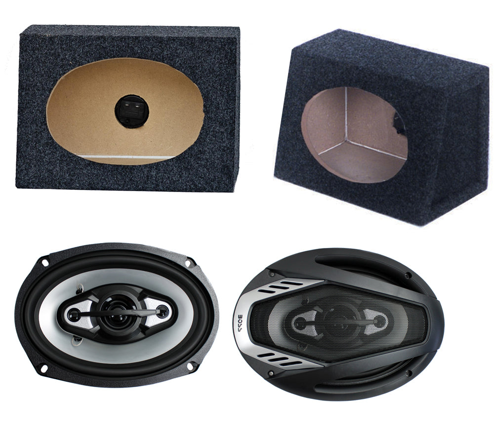 http://www.ebay.com/i/2-NEW-BOSS-NX694-6x9-800W-Car-Audio-Speakers-2-6x9-Speaker-Box-Enclosures-/231458889448