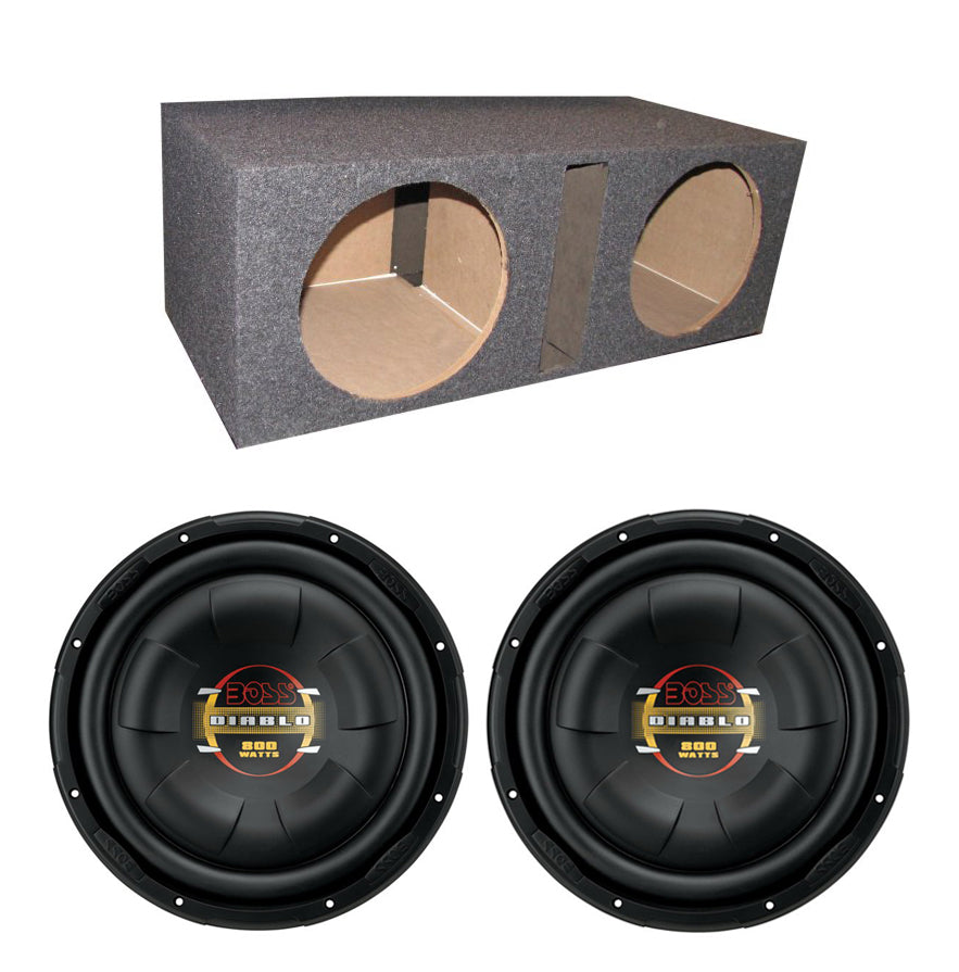 http://www.ebay.com/i/2-BOSS-D10F-10-1600W-Shallow-Slim-Car-Audio-Subwoofers-Dual-Vented-Sub-Box-/351018556240