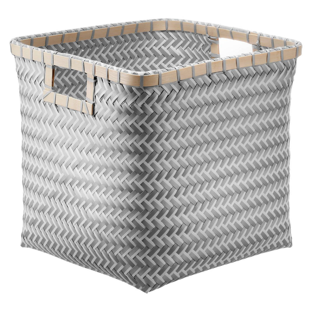 http://www.ebay.com/i/Woven-Cube-13-Gray-and-White-Wood-Room-Essentials-153-/302535283991